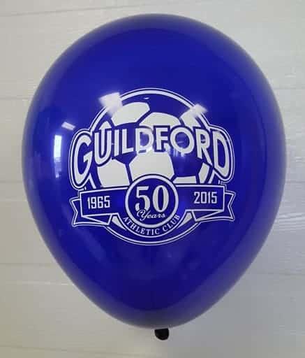 ballon imprimé hélium