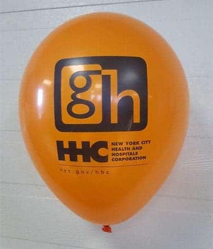 ballons personnalisés logo