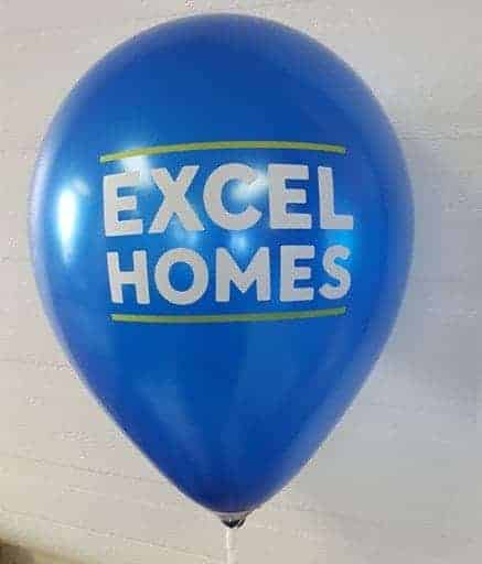 logo latex balloons