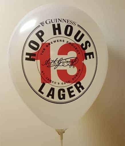 logo balloons fast