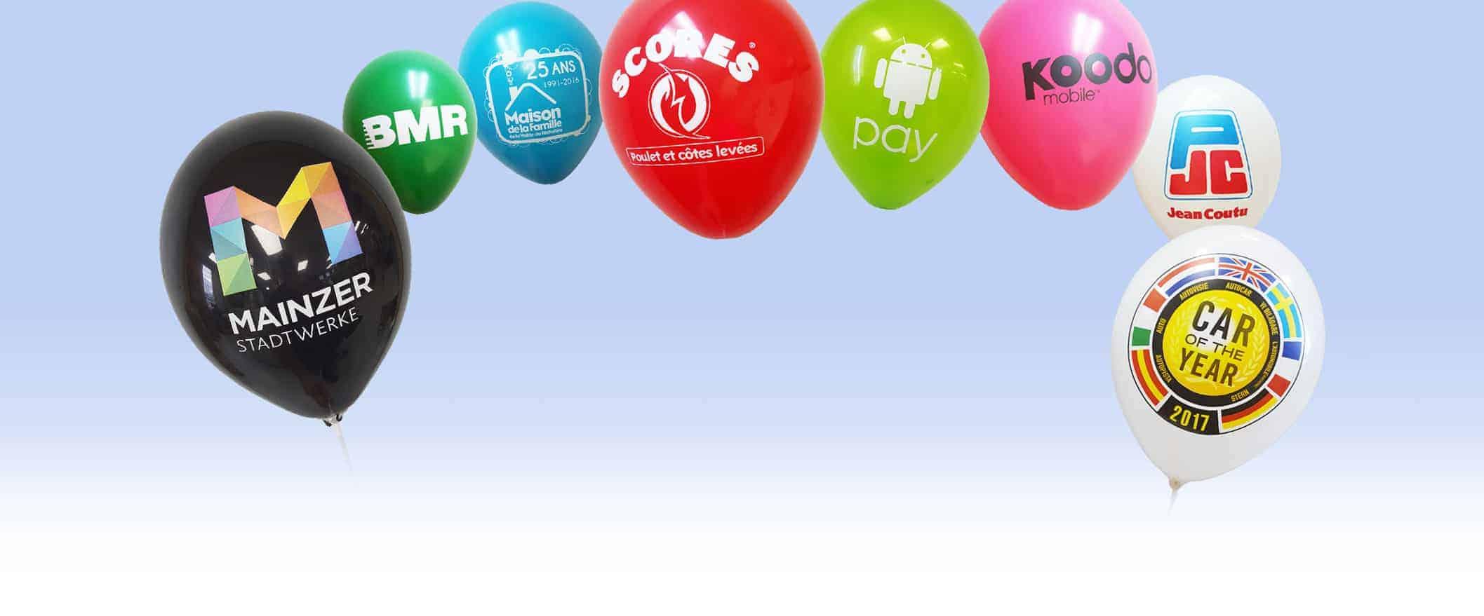 Ballons personnalisés Québec