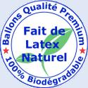 Ballons biodégradables