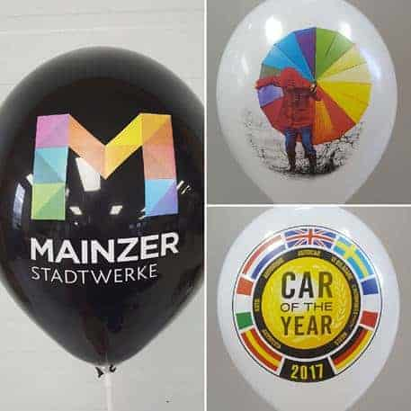 Print Your Logo on Balloons