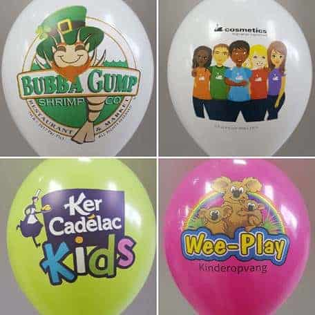 8-Color Printing on balloons