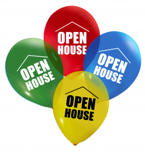Balloons for Open House