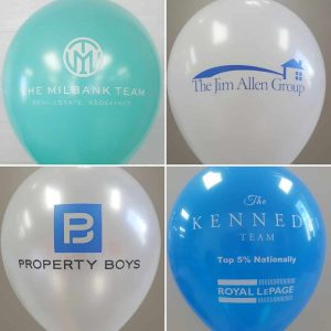 Balloons sell houses