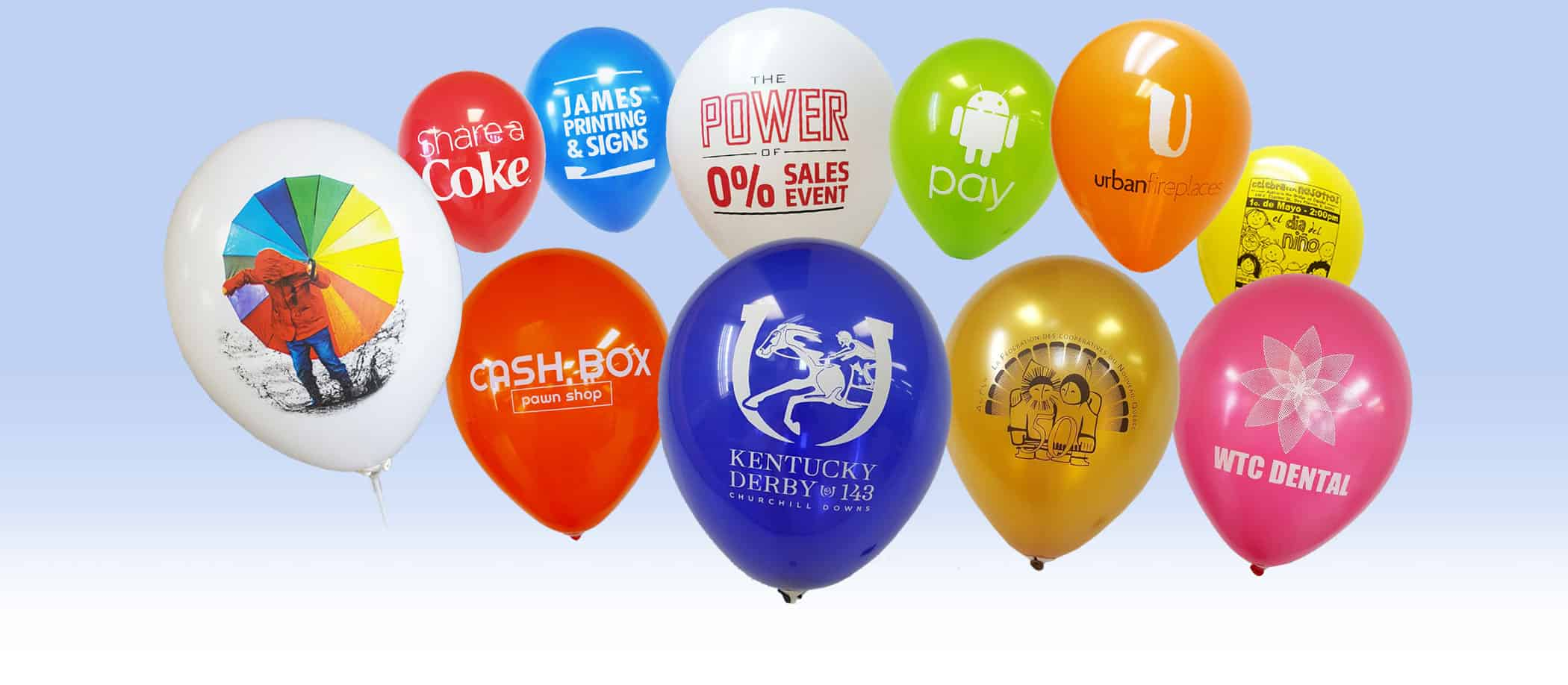 Custom Balloons In Chicago