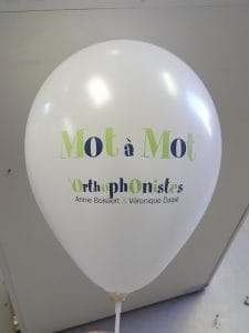 personalized logo balloons