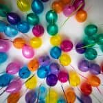 Custom balloons for events