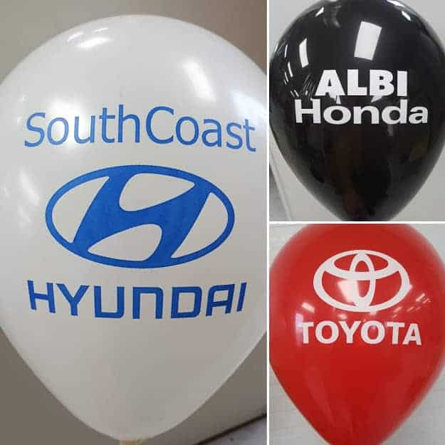 Personalized Balloons Calgary Dealerships
